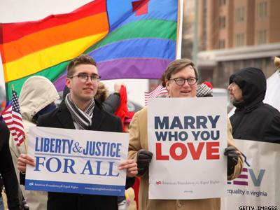 Virginia Attorney Files Brief Saying Courts Didn't Have Right to Allow Same-Sex Unions