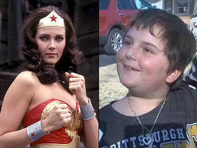 Wonder Woman Stands by 8-Year-Old Tomboy