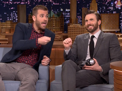 WATCH: Chris Evans and Brother Scott Recall Funniest Childhood Moments