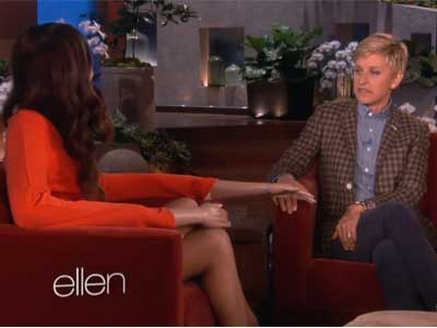 WATCH: Ellen Takes on Target's Horrible Photoshop Controversy
