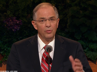 Mormon Leader: Church Still Opposes Marriage Equality