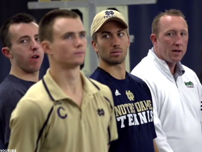 WATCH: What Happened When A Member of Notre Dame's Tennis Team Came Out
