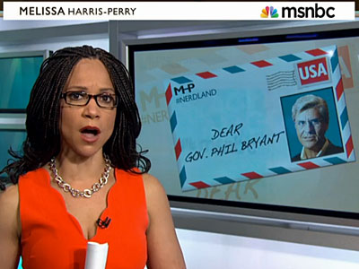 WATCH: Melissa Harris-Perry Slams Mississippi Gov. for Signing Discriminatory Bill