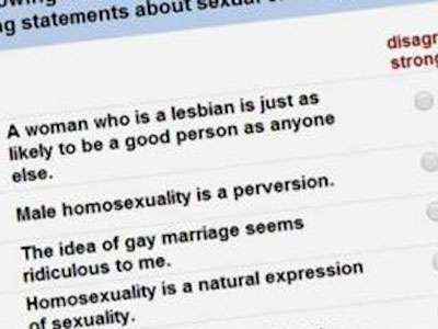 Univ. of Kentucky Asks Students If Homosexuality Is a Sin