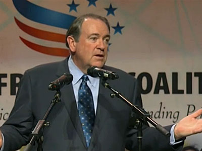 WATCH: Mike Huckabee Isn't a 'Homophobic' 'Hater,' Just on the 'Right Side of the Bible'