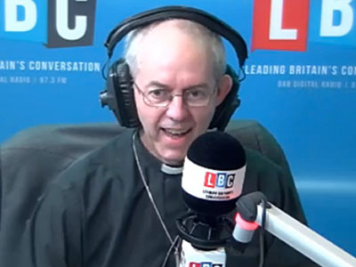 WATCH: Anglican Archbishop Says Gay Marriage Could Harm Christians in Africa