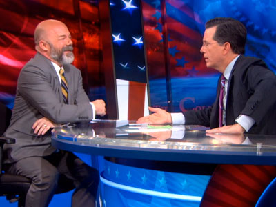 WATCH: Stephen Colbert on The Loss of Mozilla's Brendan Eich