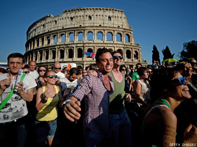 Italy: Town Must Recognize Gay Marriage Performed in U.S.