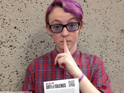 LGBT Students, Teachers Embrace Day of Silence