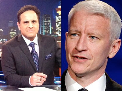 Anderson Cooper Throws Shade at Antigay Anchor