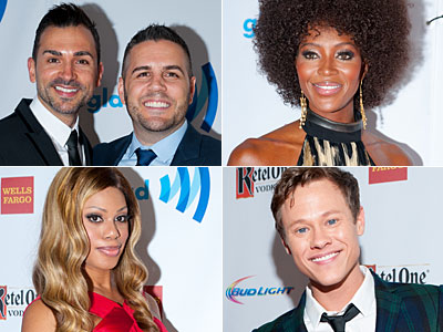 PHOTOS: Celebrities Share Messages of Hope, Inspiration on GLAAD's Red Carpet