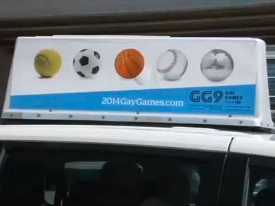 Cleveland Cabbies Refuse to Drive Gay Games Taxis