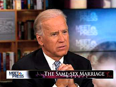 New Book: Biden Pushed Obama on Marriage Equality