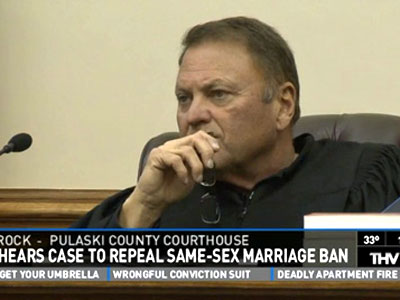 Ark. Marriage Ruling Likely in Two Weeks