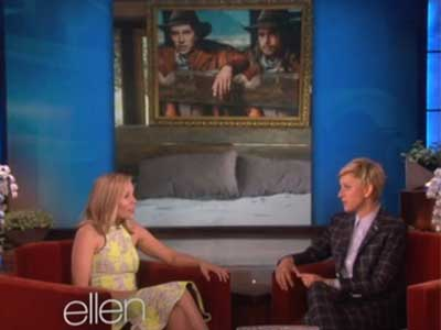 WATCH: Dax Shepherd's Crush on Brad Pitt is Too Real For Kristen Bell