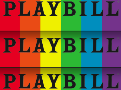 Playbill Will Go Rainbow for Pride