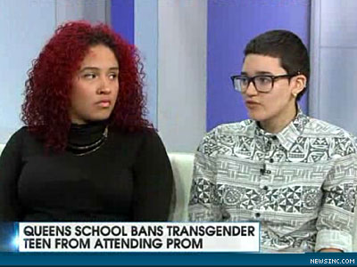 WATCH: N.Y. Student Told Her Trans Boyfriend Not Allowed at Prom, Couple Plan Their Own