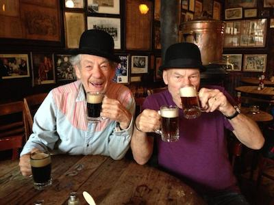 WATCH: Ian McKellen and Patrick Stewart Play the Newlywed Game
