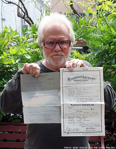 Gay Widower Asks for Marriage-Based Green Card
