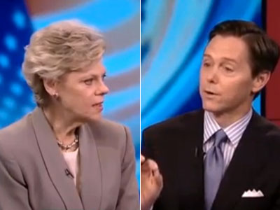 WATCH: Cokie Roberts Stands Up to Antigay Religious Activists
