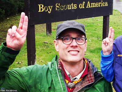 BSA Severs Ties With Church Over Gay Scoutmaster