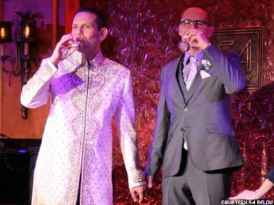 Gay Wedding Warms Up NYC Club for Big Gay Il(legal) Party