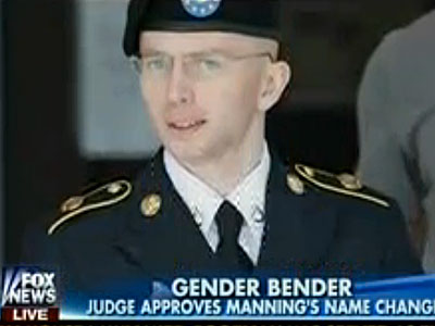 Fox News Calls Chelsea Manning a 'Gender-Bender'