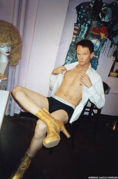Peek Inside NPH's Hedwig Dressing Room