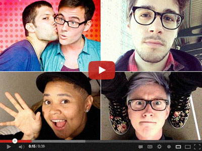 Behind the Smallest Screen: The Lives and Loading Times of Gay YouTube Stars