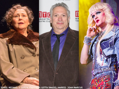 WATCH: Cherry Jones, Harvey Fierstein, NPH Get Tony Nods