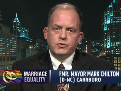 WATCH: New N.C. Official Ready to Issue Same-Sex Marriage Licenses