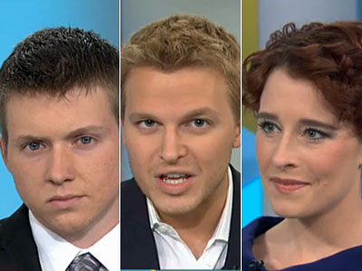 WATCH: Ronan Farrow's Trans Military Debriefing