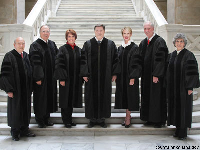 Arkansas Supreme Court Halts Marriage Equality