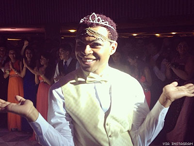 WATCH: Gay Male Prom Queen Fights Transphobia