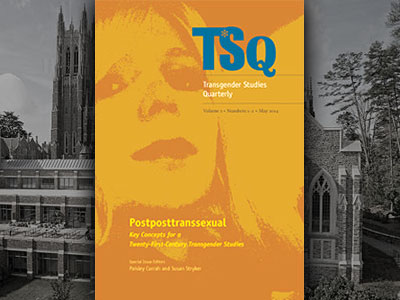 Duke Univ. Press Debuts Academic Journal for Transgender Studies