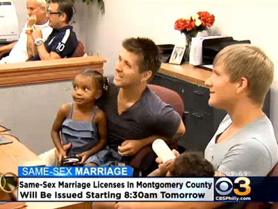 WATCH: Final Pa. County Comes Full Circle to Issue Marriage Licenses
