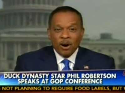 WATCH: Fox's Juan Williams Asks Whether Phil Robertson Is Face of GOP Outreach