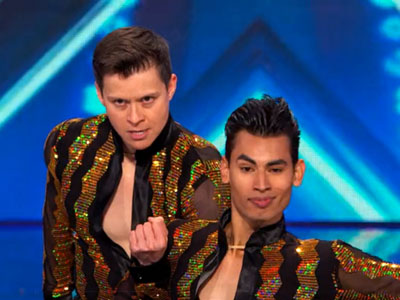 WATCH: Same-Sex Pair's Salsa Dance Sizzles on America's Got Talent