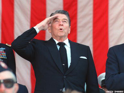 Ron reagan gay