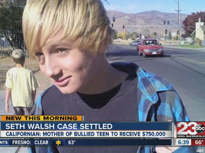 Mother Settles With School District Over Bullied Son's Suicide