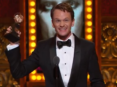 WATCH: Neil Patrick Harris and Hedwig Win Big at the Tonys