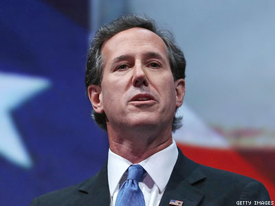 Santorum Joins NOM's March for (Straight) Marriage