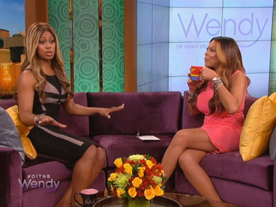 WATCH: Laverne Cox Explains It All to Wendy Williams