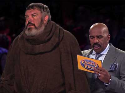 WATCH: Hodor From GoT Plays 'Family Feud'