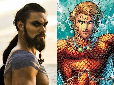 Game of Thrones Hunk Cast as Aquaman