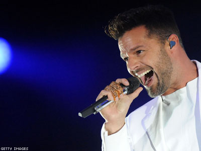 WATCH: Ricky Martin Changes Lyrics in Protest of Morocco's Antigay Laws