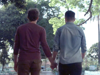 WATCH: Allstate Wants LGBTs to Be #OutHoldingHands