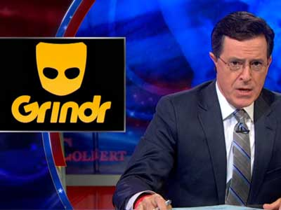 WATCH: Colbert Laments, 'Gay People Are Winning the War'