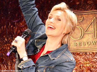 6 Most Gleeful Moments From Jane Lynch's Cabaret Debut