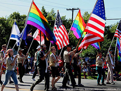Boy Scouts to Add Khaki to NYC Pride March's Rainbow